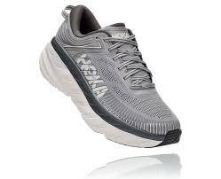 נעלי ריצה והליכה הוקה רחבות לגברים hoka bondi 7