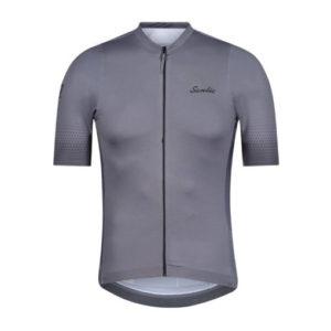 חולצת רכיבה מעולה ברמה מקצועית אפורה SANTIC