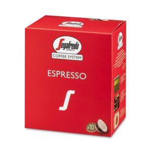100 קפסולות סגפרדו תערובת קפה אספרסו קלאסית