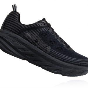 נעלי ריצה והליכה הוקה hoka bondi 6 בצבע שחור בלבד