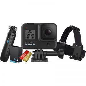 מצלמת אקסטרים GoPro HERO8 Black Edition – Bundle