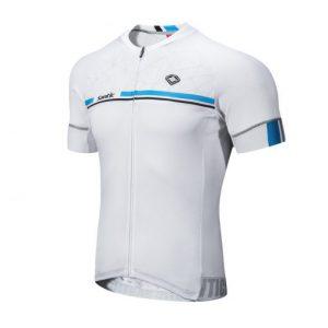 חולצת רכיבה לבנה SANTIC
