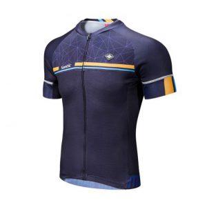 חולצת רכיבה כחולה SANTIC