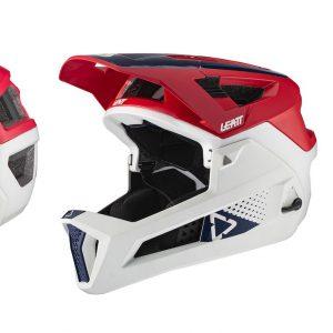 קסדת אופניים מלאה Leatt Helmet MTB 4.0 Enduro V21 Chilli
