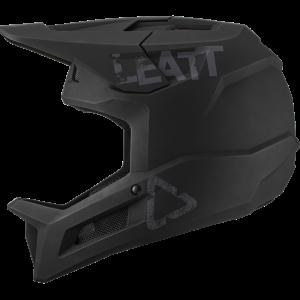 קסדת אופניים מלאה Leatt MTB Helmet MTB 1.0 DH V21 Black