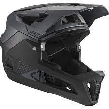קסדת אופניים מלאה Leatt Helmet MTB 4.0 Enduro V21 Black