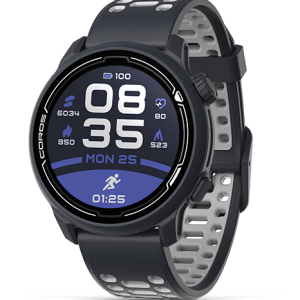 שעון דופק COROS PACE 2 Premium GPS Sport Watch שחור רצועת סיליקון