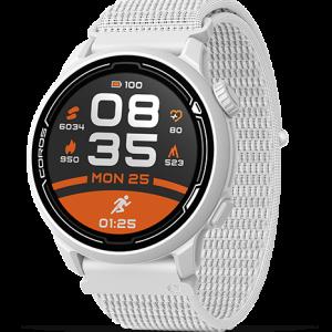 שעון דופק COROS PACE 2 Premium GPS Sport Watch לבן רצועת ניילון