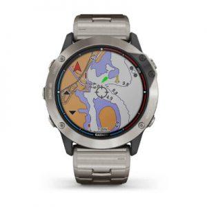 שעון דופק Quatix 6X Solar Titanium