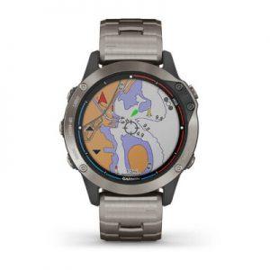 שעון דופק Quatix 6 Sapphire Titanium