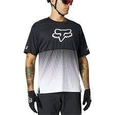 חולצת רכיבת שטח שרוול קצר קיצית FOX