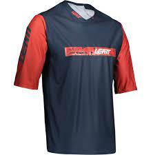 חולצת רכיבה שטח שרוול קצר קיצית  LEAT MTB 3.0